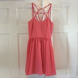 New with tags Keepsake pink dress.